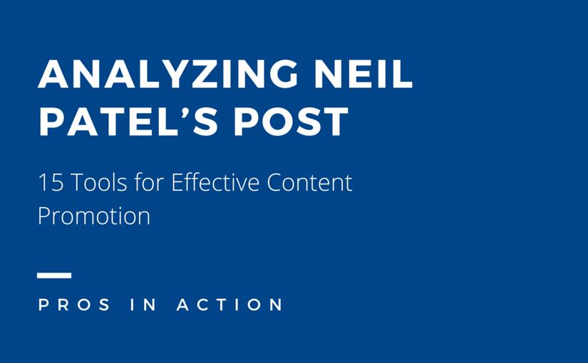 content writing analysis neil patel