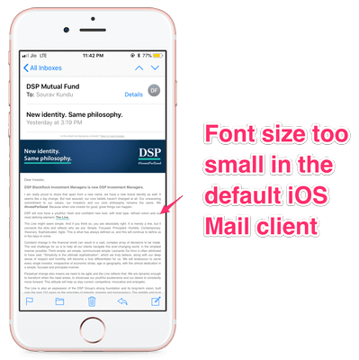 DSP_Mutual_Fund_Rebranding_Email_Apple_iOS_Default_Mail_Client_View